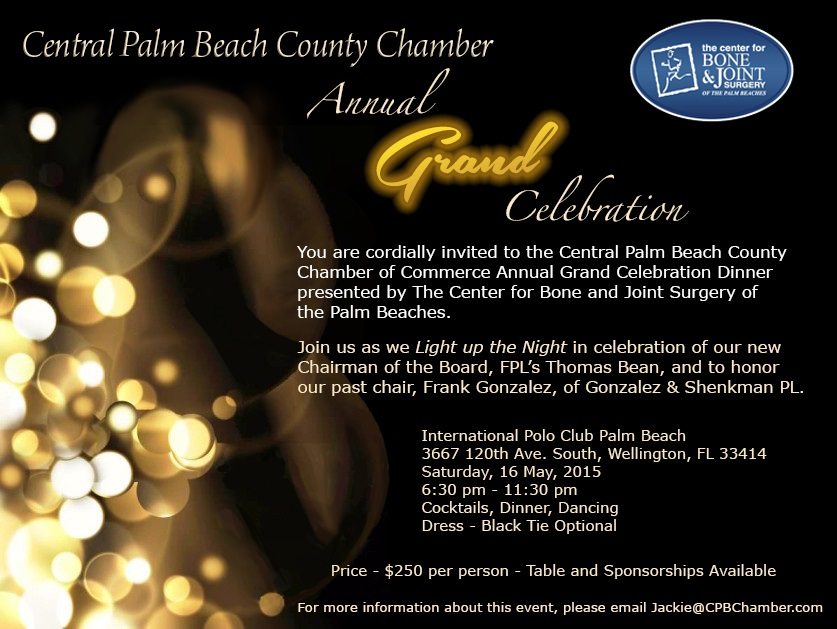 Grand Annual Celebration Invite