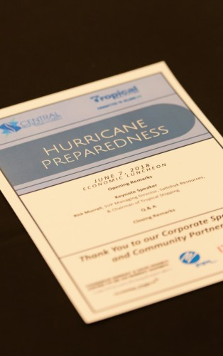 June 2018 Luncheon Hurricane Preparedness